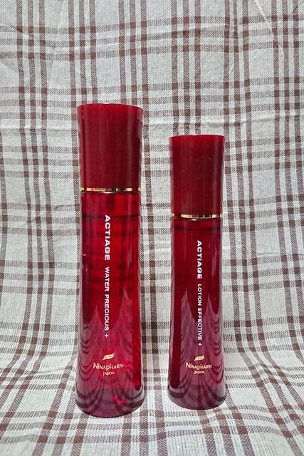 化粧水と美容液の見た目の違い