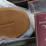 洗顔石鹸のサヴォン アンベリール120gを買いました。